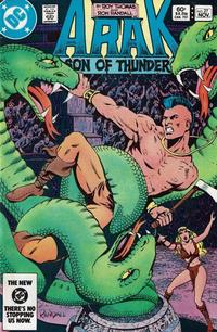 Cover Thumbnail for Arak / Son of Thunder (DC, 1981 series) #27 [Direct]