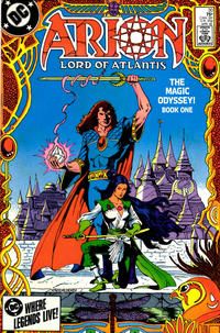 Cover Thumbnail for Arion, Lord of Atlantis (DC, 1982 series) #30 [Direct]