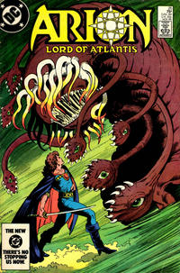 Cover Thumbnail for Arion, Lord of Atlantis (DC, 1982 series) #25 [Direct]