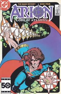 Cover Thumbnail for Arion, Lord of Atlantis (DC, 1982 series) #33 [Direct]