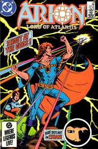 Cover Thumbnail for Arion, Lord of Atlantis (DC, 1982 series) #28 [Direct]