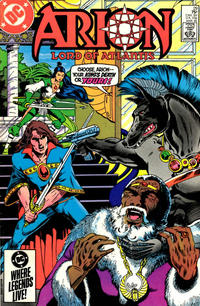 Cover Thumbnail for Arion, Lord of Atlantis (DC, 1982 series) #29 [Direct]
