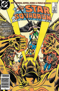 Cover for All-Star Squadron (DC, 1981 series) #46 [Direct Sales]