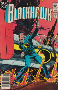 Cover Thumbnail for Blackhawk (DC, 1957 series) #264 [Newsstand]