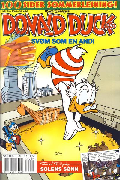 Cover for Donald Duck & Co (Hjemmet / Egmont, 1948 series) #29/2005