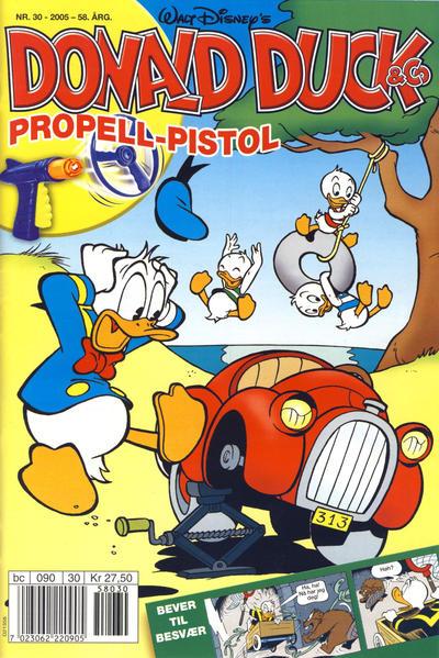 Cover for Donald Duck & Co (Hjemmet / Egmont, 1948 series) #30/2005