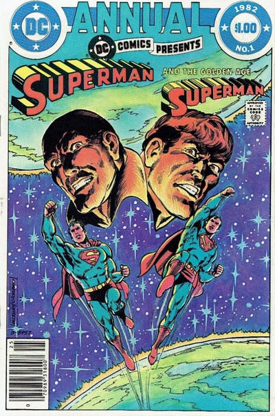 Cover for DC Comics Presents Annual (DC, 1982 series) #1 [Direct Sales]
