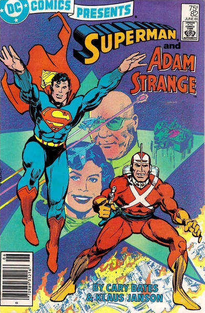 Cover for DC Comics Presents (DC, 1978 series) #82 [Direct Sales]