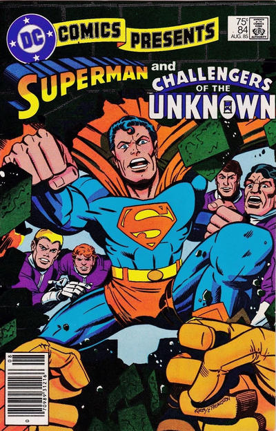 Cover for DC Comics Presents (DC, 1978 series) #84 [Direct]