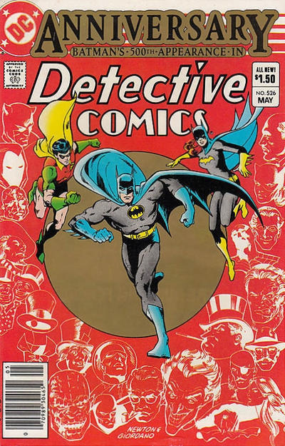 Cover for Detective Comics (DC, 1937 series) #526 [Direct]