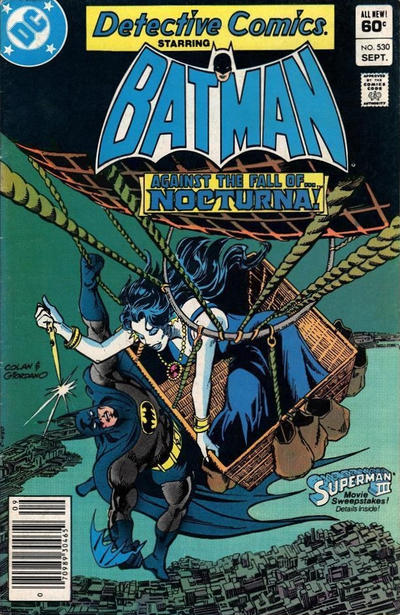 Cover for Detective Comics (DC, 1937 series) #530 [Direct-Sales]