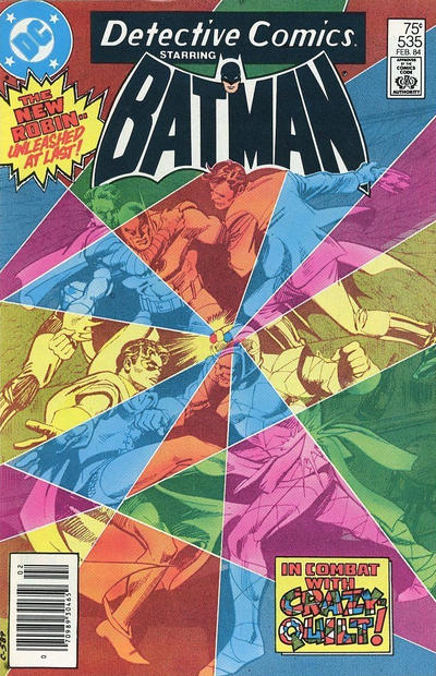 Cover for Detective Comics (DC, 1937 series) #535 [Direct-Sales]
