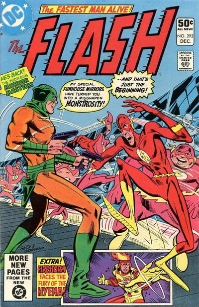 Cover for The Flash (DC, 1959 series) #292 [Direct Sales]
