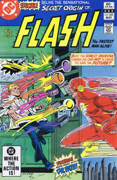 Cover for The Flash (DC, 1959 series) #309 [Direct Sales]