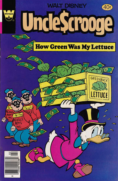 Cover for Uncle Scrooge (Western, 1963 series) #173 [Gold Key]