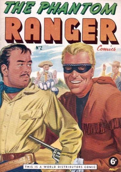 Cover for The Phantom Ranger (World Distributors, 1955 series) #2