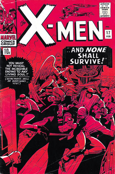 Cover for The X-Men (Marvel, 1963 series) #17