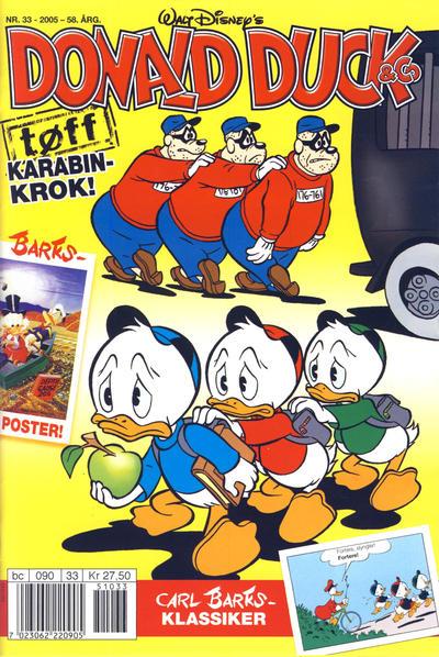 Cover for Donald Duck & Co (Hjemmet / Egmont, 1948 series) #33/2005
