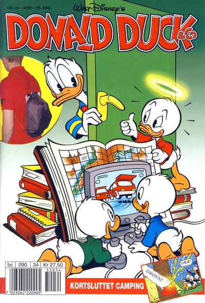 Cover for Donald Duck & Co (Hjemmet / Egmont, 1948 series) #34/2005