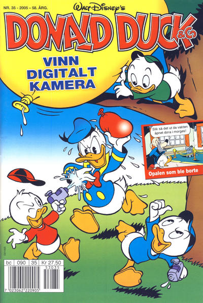Cover for Donald Duck & Co (Hjemmet / Egmont, 1948 series) #35/2005