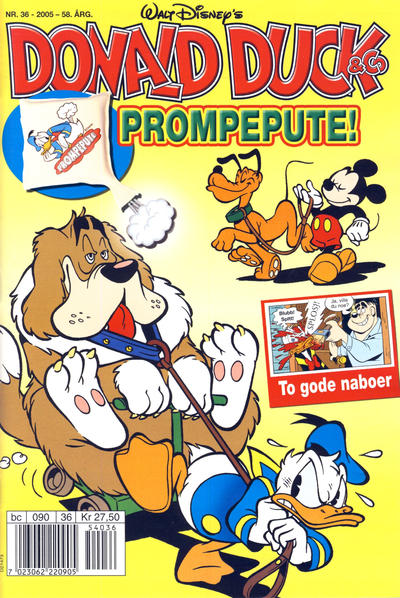 Cover for Donald Duck & Co (Hjemmet / Egmont, 1948 series) #36/2005