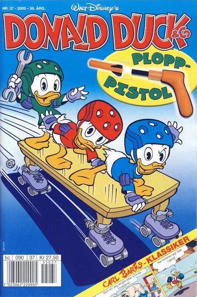 Cover for Donald Duck & Co (Hjemmet / Egmont, 1948 series) #37/2005