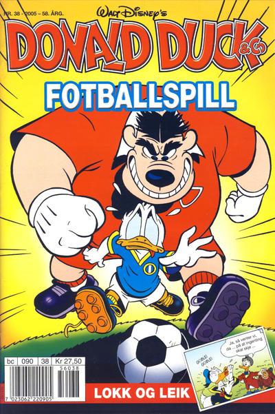 Cover for Donald Duck & Co (Hjemmet / Egmont, 1948 series) #38/2005