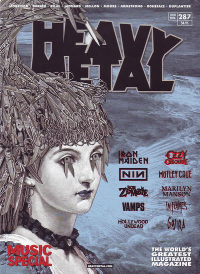 Cover for Heavy Metal Magazine (Heavy Metal, 1977 series) #287 - Music Special
