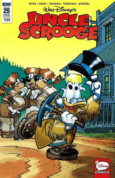 Cover for Uncle Scrooge (IDW, 2015 series) #29 / 433 [Retailer Incentive Cover Variant]