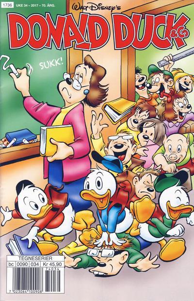 Cover for Donald Duck & Co (Hjemmet / Egmont, 1948 series) #34/2017