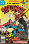Cover Thumbnail for The New Adventures of Superboy (1980 series) #19 [Newsstand]