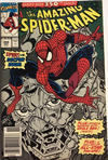 Cover Thumbnail for The Amazing Spider-Man (1963 series) #350 [Australian Newsstand Edition]