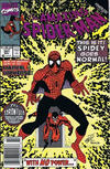 Cover Thumbnail for The Amazing Spider-Man (1963 series) #341 [Newsstand Edition]