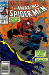Cover Thumbnail for The Amazing Spider-Man (1963 series) #349 [Newsstand Edition]