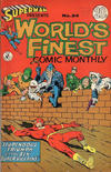 Cover for Superman Presents World's Finest Comic Monthly (K. G. Murray, 1965 series) #34