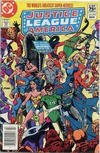 Cover Thumbnail for Justice League of America (1960 series) #212 [Canadian Newsstand Edition]