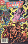 Cover Thumbnail for Justice League of America (1960 series) #219 [Canadian Newsstand Edition]