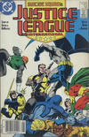 Cover Thumbnail for Justice League International (1987 series) #13 [Canadian Newsstand Edition]
