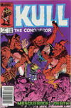 Cover for Kull the Conqueror (Marvel, 1983 series) #7 [Canadian Newsstand Edition]