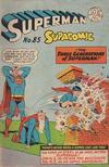 Cover for Superman Supacomic (K. G. Murray, 1959 series) #85