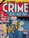 Cover for Crime Does Not Pay (Arnold Book Company, 1950 series) #1
