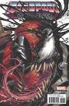 Cover for Deadpool: Back in Black (Marvel, 2016 series) #1 [KRS Comics Exclusive Tyler Kirkham Color]