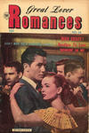Cover for Great Lover Romances (Superior Publishers Limited, 1952 series) #16