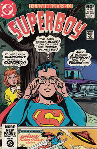 Cover Thumbnail for The New Adventures of Superboy (DC, 1980 series) #24 [Direct]
