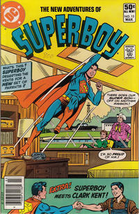Cover Thumbnail for The New Adventures of Superboy (DC, 1980 series) #15 [Newsstand]
