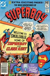 Cover Thumbnail for The New Adventures of Superboy (DC, 1980 series) #12 [Newsstand]