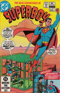 Cover Thumbnail for The New Adventures of Superboy (DC, 1980 series) #27 [Direct]