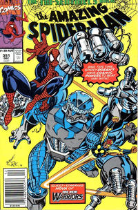 Cover for The Amazing Spider-Man (Marvel, 1963 series) #351 [Direct Edition]