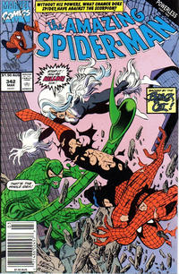 Cover Thumbnail for The Amazing Spider-Man (Marvel, 1963 series) #342 [Australian]