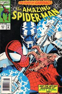 Cover Thumbnail for The Amazing Spider-Man (Marvel, 1963 series) #377 [Australian]